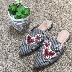 A New Day Checkered Mules